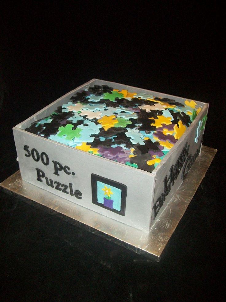 Jigsaw Puzzle Cake Pan