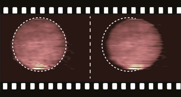 New video camera captures 5 trillion frames every second  High-speed filming could offer view of rapid chemistry, physics phenomena.  SPEEDSTERA video camera that can film the equivalent of 5 trillion images every second reaches such speeds with the help of an algorithm, capturing the movement of light particles (orange ball). ~~ Courtesy of Elias Kristensson/Lund University