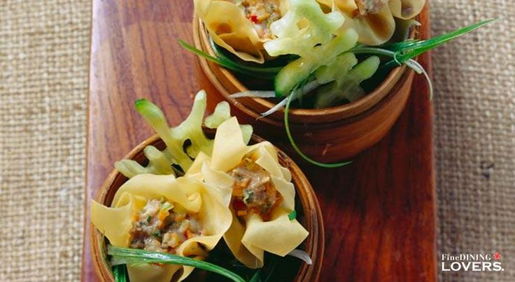 Looking (and tasting) delicious: find out how to make these Chinese dim sums filled with pork and shrimp