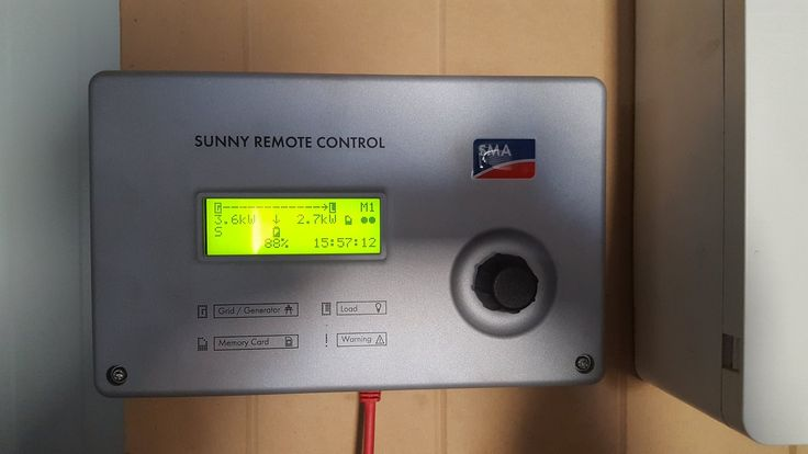 Generator integration with battery and PV.