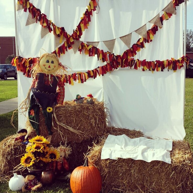 Fall Festival photo booth.