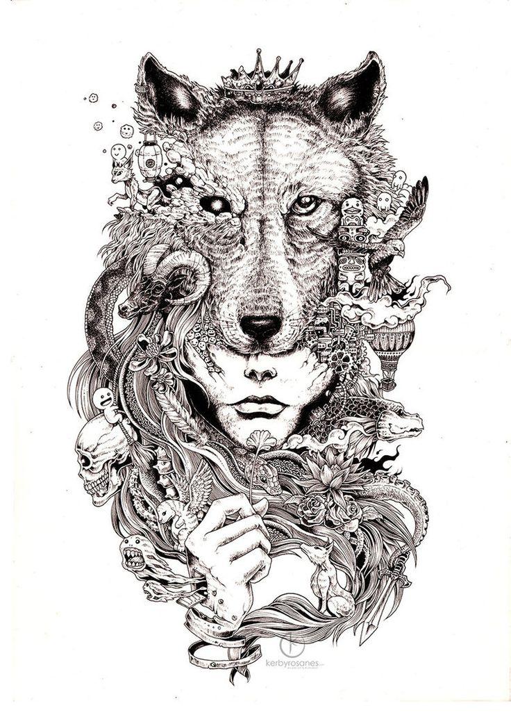 29 best coloring book - Kerby Rosanes images on Pinterest | Doodles ...