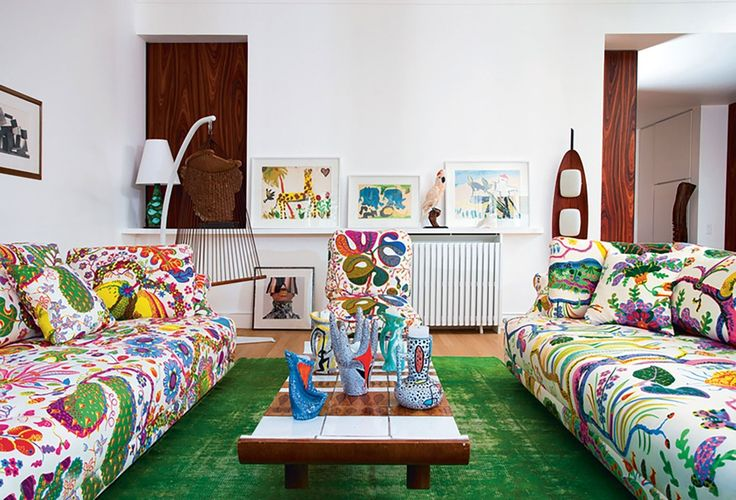Josef Frank's bodacious midcentury fabrics are blooming here, there, and everywhere | archdigest.com