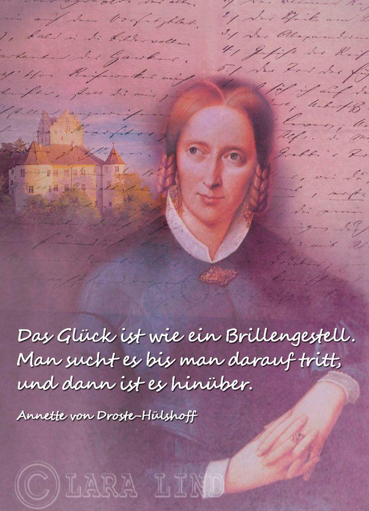 Annette Von Droste Hülshoff Zitate Sprüche Zitate Und