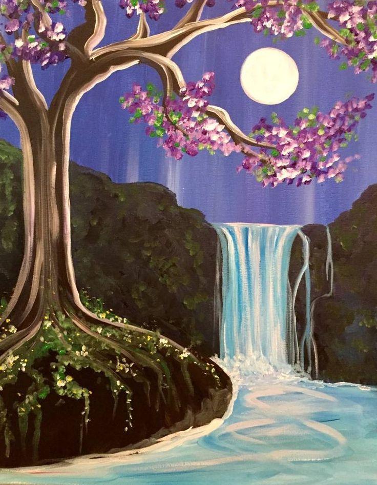 волшебный водопад рисунок постановлении