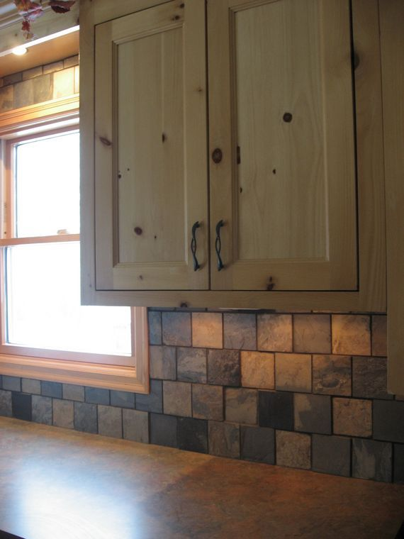 Strategic kitchens - Knotty pine kitchen - Strategic Design Build