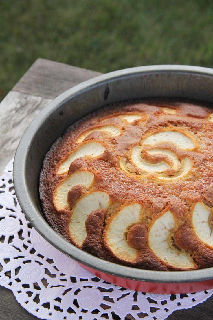 Gâteau au yaourt pomme caramel beurre salé (pour la recette, cliquez sur l'image)