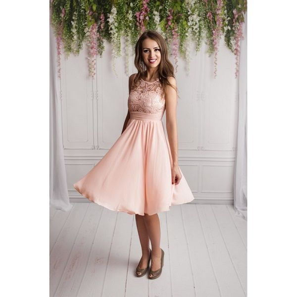 kurzes kleid standesamt hochzeit rose   kleid standesamt