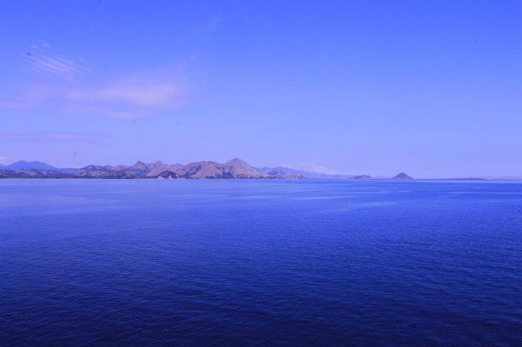 The land of the dragon, Komodo Island. View from boat.. #KomodoIsland #Flores #Indonesia #KomodoDragon #Adventure #Nature #Beauty #7Wonder