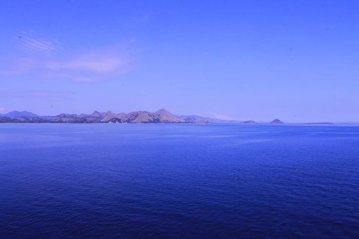 The land of the dragon, Komodo Island. View from boat.. #KomodoIsland #Flores #Indonesia #KomodoDragon #Adventure #Nature #Beauty #7Wonder
