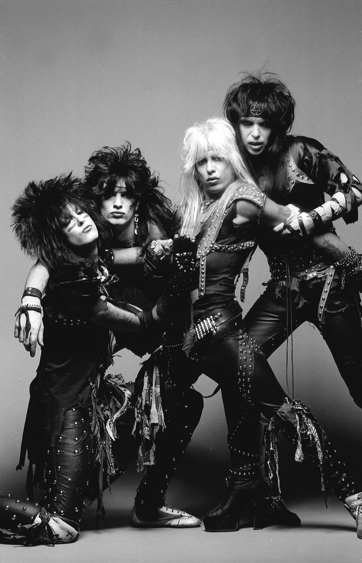 Mötley Crüe, photographed by Neil Zlozower in 1984 | the ...