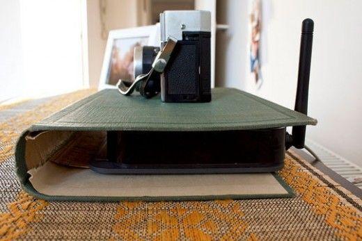 #Décorer - Une astuce pour dissimuler votre box ADSL