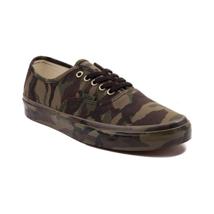 Vans Authentic Camo Mono Skate Shoe