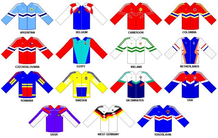 Adidas Jackets 1990 FIFA World Cup ITALY
