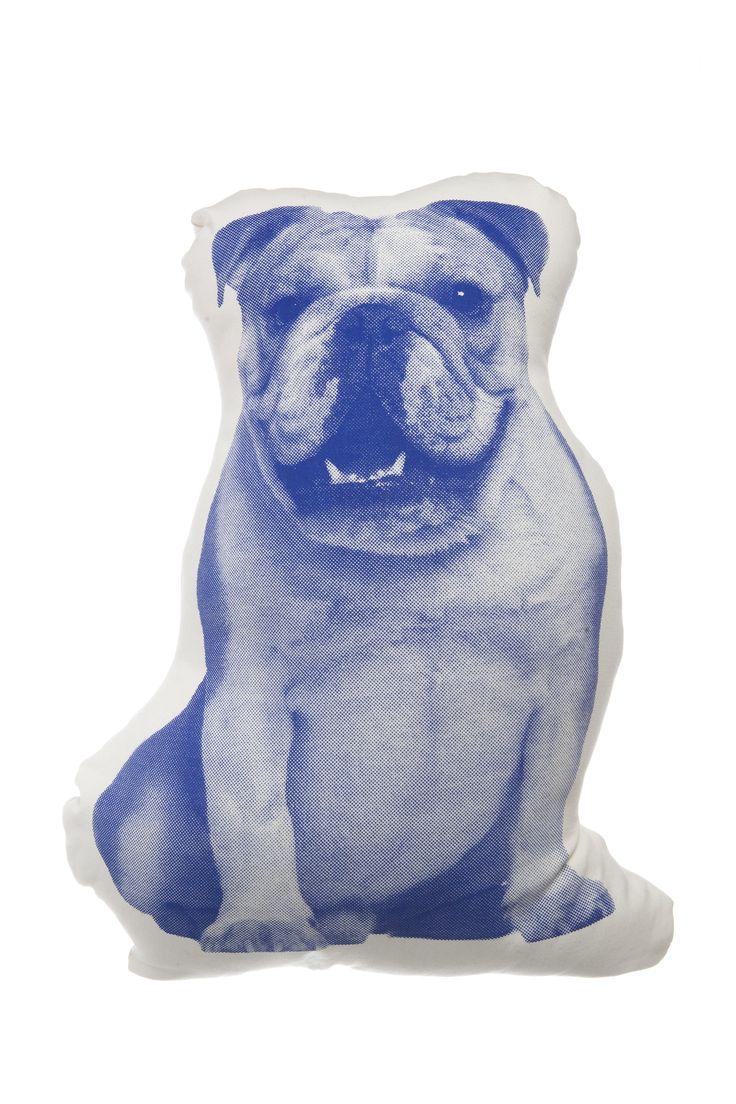 Areaware MINI English Bulldog Pillow