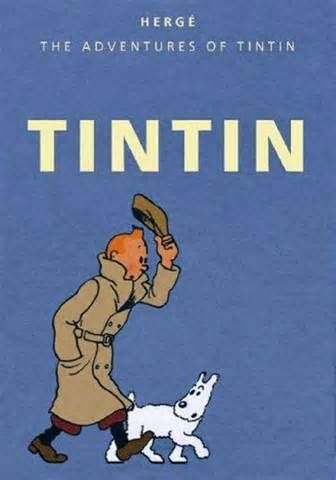 TINTIN -when in Belgium... :) My sons latest favourite.