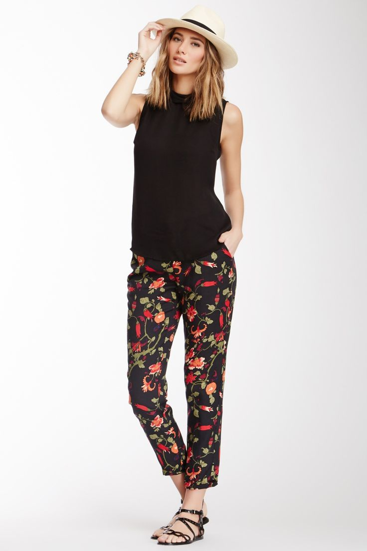 'Joie' floral pant for a little casual cool