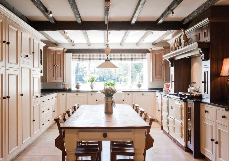 Crompton Kitchen - Cream & Walnut