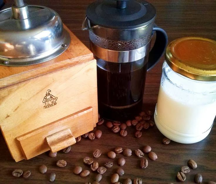 Soul & Body: Domowe latte macchiato..  Kawą pijam rzadko, jedyn...