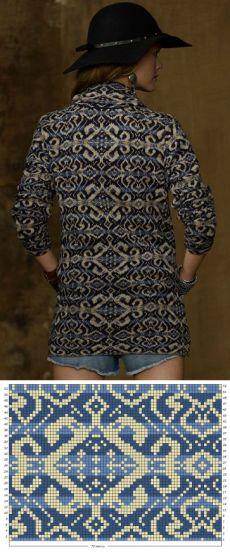 Fair isle sweater pattern