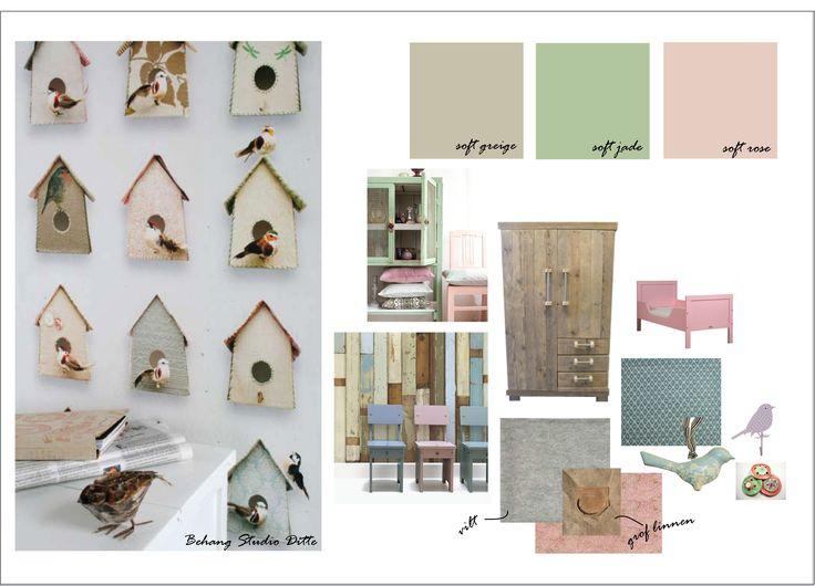 Design kidsroom | by www.huisengrietje.nl