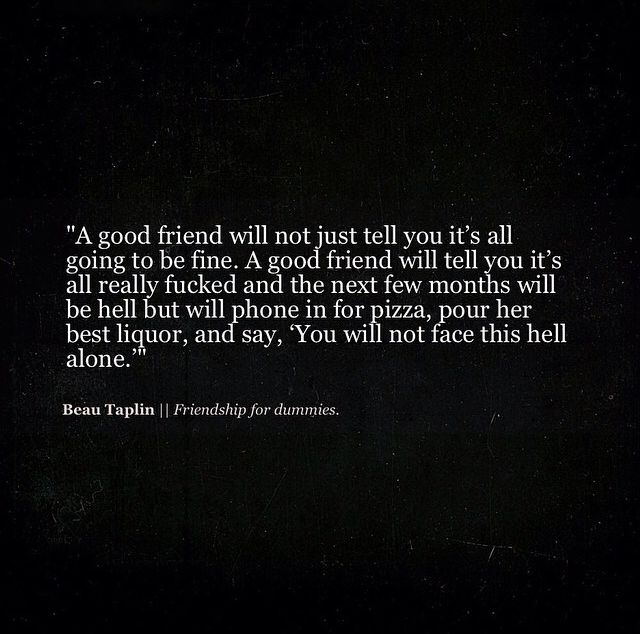 The Inspirational Beau Taplin #quote. Friendship ...