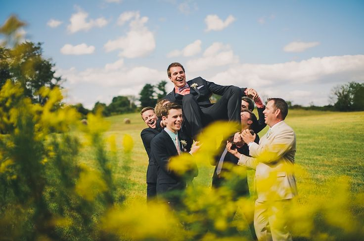 Sam + Lexi | Stone Manor Country Club   #WeddingPhotography #Groomsmen