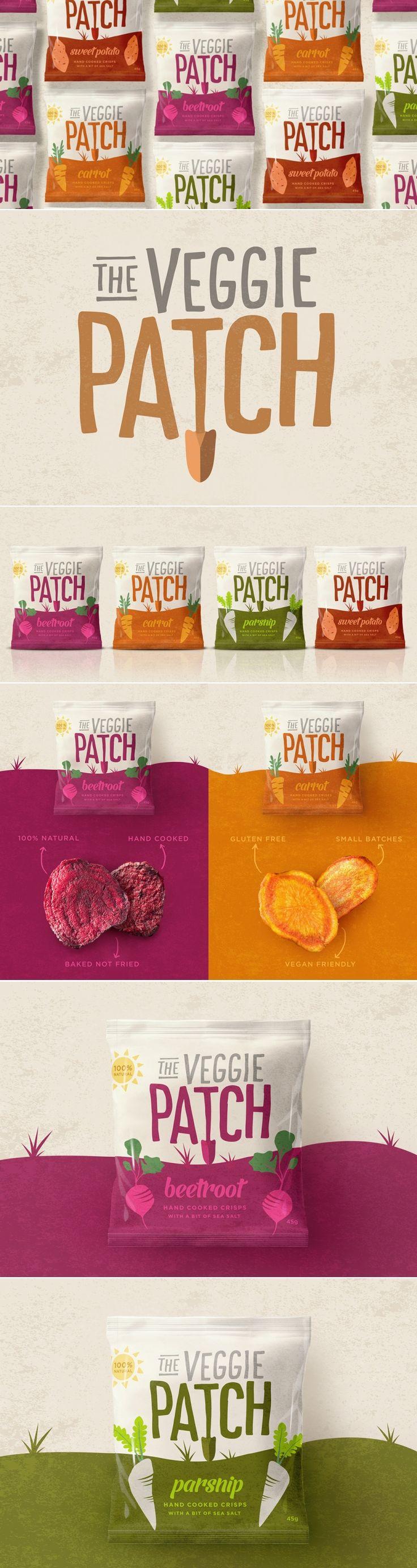 The Veggie Patch — The Dieline | Packaging & Branding Design & Innovation News