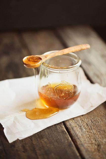 honeyFood Style, Company Picnics, Breakfast, Honey Recipe, Rustic Food, Food Photography, Cooking Tips, Jars, Honey Bees