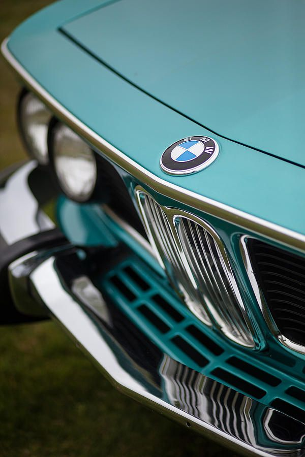 Bmw Photograph - Bmw 3.0 Cs Front by Mike Reid