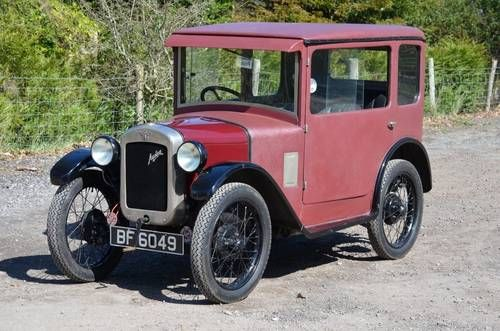 Austin Seven Fabric Bodied RK Saloon For Sale (1929)
