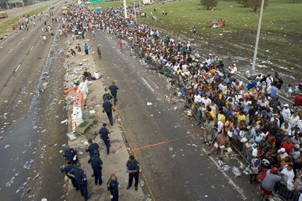 Hurricane Katrina New Orleans Unforgetable Moments And