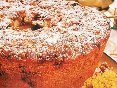 Bolo Alemão Crocante (de limão, com canela e nozes)