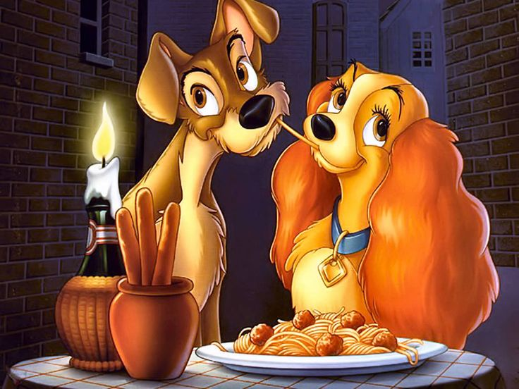 Disney's Lady and the Tramp was a very popular children's movie that had some controversy because of the very scene that has become synonymous with the film itself.
