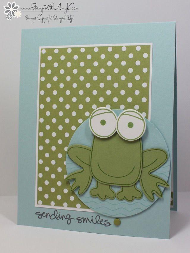 Лягушка открытка своими руками, поздравления днем