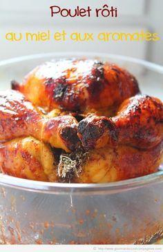 poulet rôti au miel