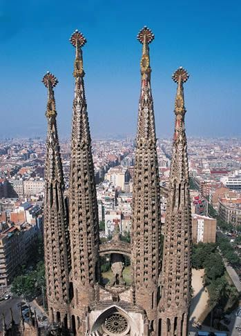 Barcelona: Antony Gaudi, Sagrada Familia Barcelona, Beautiful Places, Places I D, Barcelona Barcelona, Architecture Gothic, The Sacred, Barcelona Spain, Spain Travel