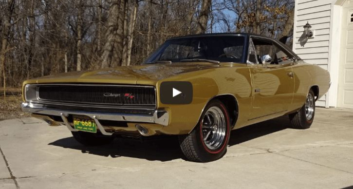 Paul Jacobs Restored 1968 Dodge HEMI Charger R/T