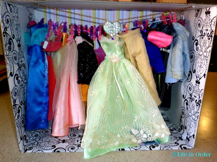 Life in Order: DIY Barbie Closet