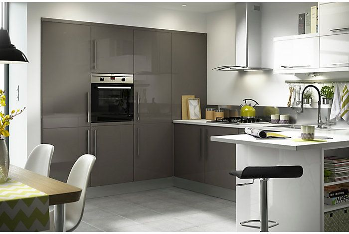 Kitchens | No. 1 kitchen retailer in the UK | DIY at B&Q - made to look built in! IN ALL MY DREAMS!