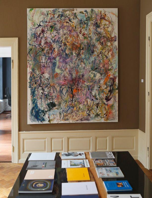 Matthias Schaufler. Die Kölner Galerie Hammelehle und Ahrens stellt in den Räumlichkeiten von der #Maßschuh #Manufaktur Vickermann & Stoya aus I Contemporary #Art Baden-Baden