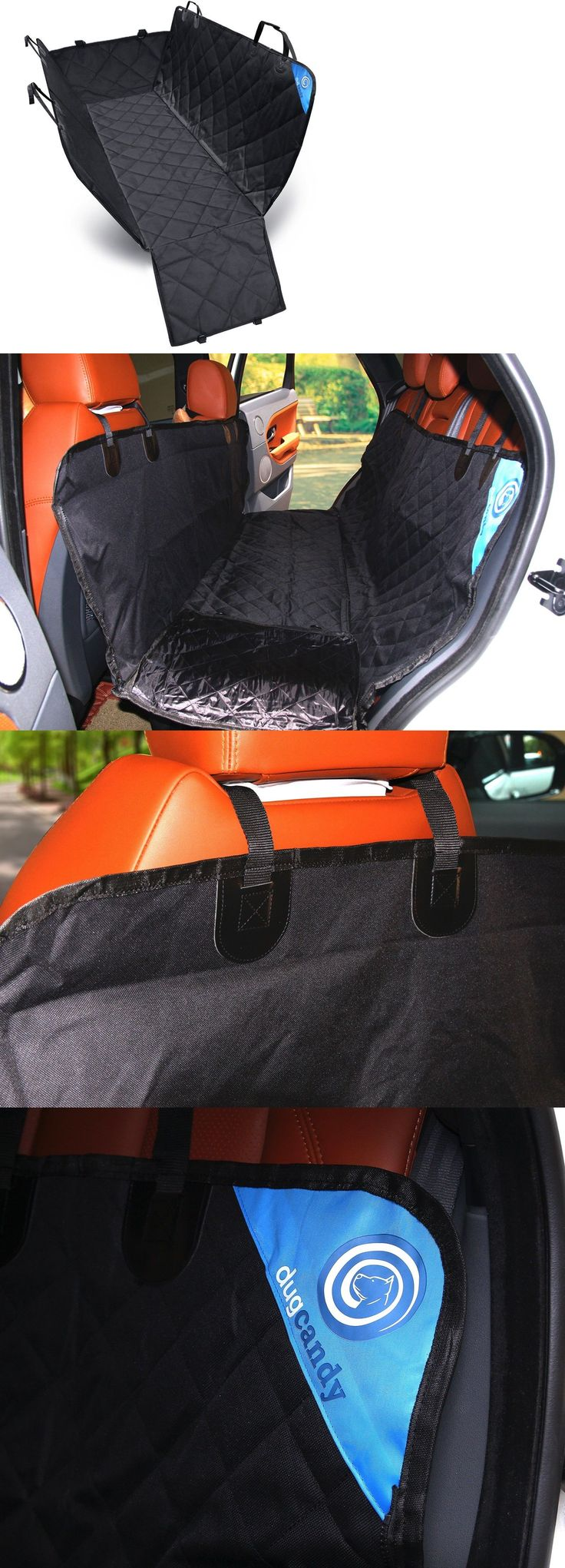 Car Seat Covers 117426: Proof Pet Dog Cat Car Seat Universal Fit Car Van Truck Suv Black Hammock Cover -> BUY IT NOW ONLY: $39.95 on eBay!