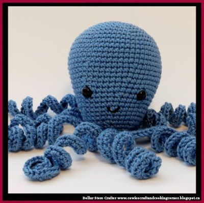 Dollar Store Crafter: Crochet Octopus (FREE PATTERN)