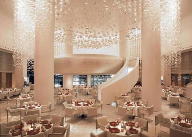 Spectacular Interior Design of Mix Restaurant and Lounge, Las Vegas