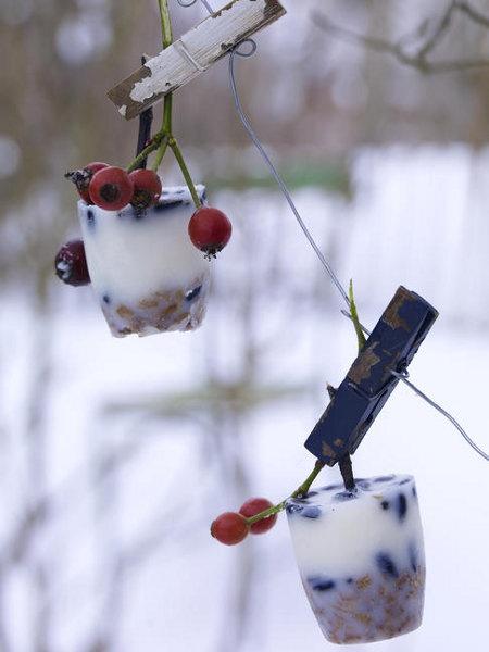 Winterliche Bastelideen: Schnee & Eis - Wohnidee.de