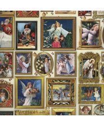 Victorian Santas & Angels in Frames Specialty Paper ~ Germany