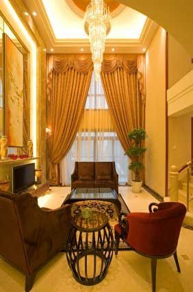 drapes for formal living rooms | Living room curtain ideas ...
