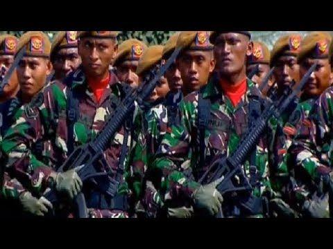 HUT TNI ke 72, Jokowi Akan Jadikan TNI Pasukan Militer Terkuat di Asia