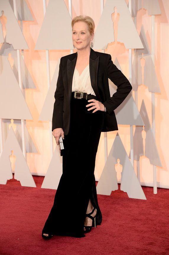 Meryl Streep Oscars 2015 Best Dressed