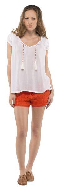 Top Fashion Element AGATA White